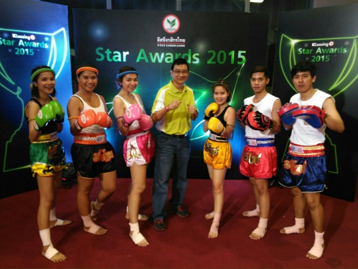 1st runner up@KL Star Award 2015 Costumes by Thai Battle Boxing